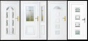 Panel biztonsági bejárati ajtó